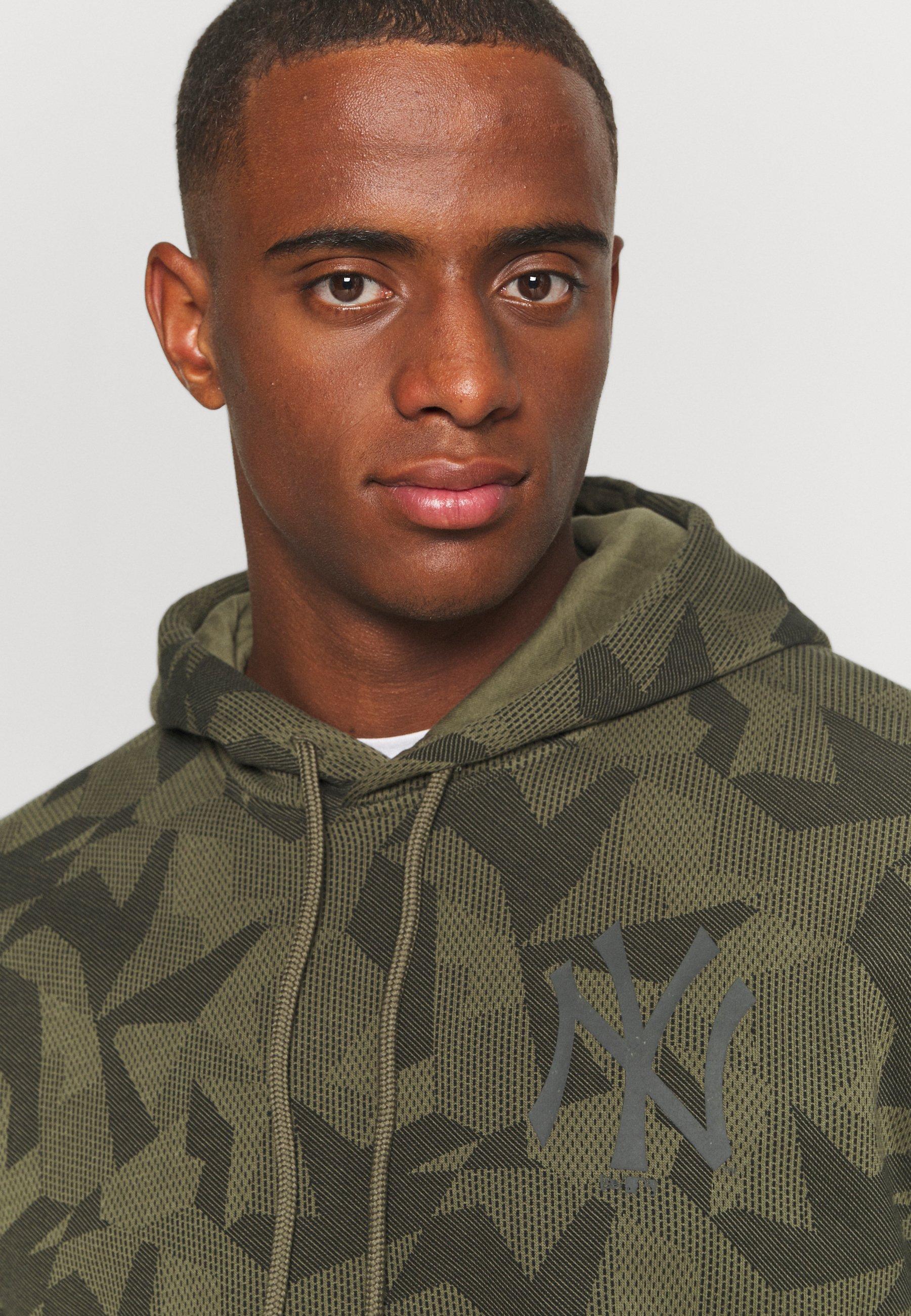 Homme MLB NEW YORK YANKEES GEOMETRIC CAMO HOODY - Sweatshirt