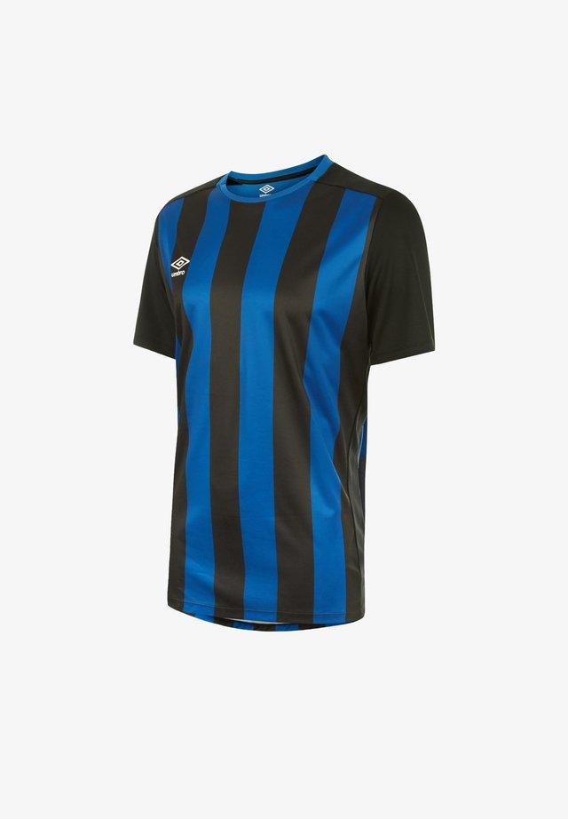 Print T-shirt - schwarzblau