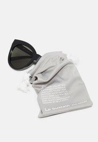 Le Specs - RESUMPTION - Sluneční brýle - black - 2