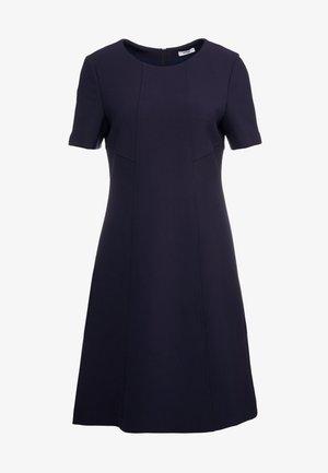 Day dress - deep blue