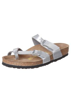 MAYARI - T-bar sandals - bilber