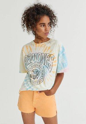 RAMONES - Print T-shirt - khaki
