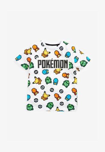 pokémon  - Print T-shirt - white