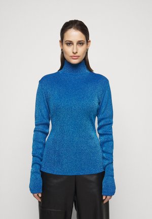 T-shirt à manches longues - lurex blue
