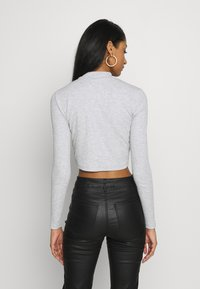 Even&Odd - 2 PACK - Long sleeved top - light grey/black - 3