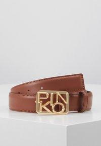 Pinko - FISCHIO SMALL BELT - Belt - brown - 1