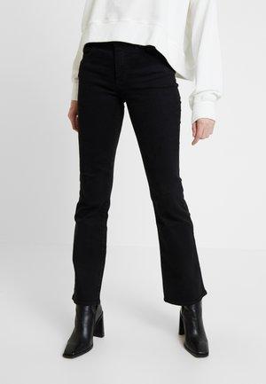 BODY BESPOKE - Bootcut jeans - black