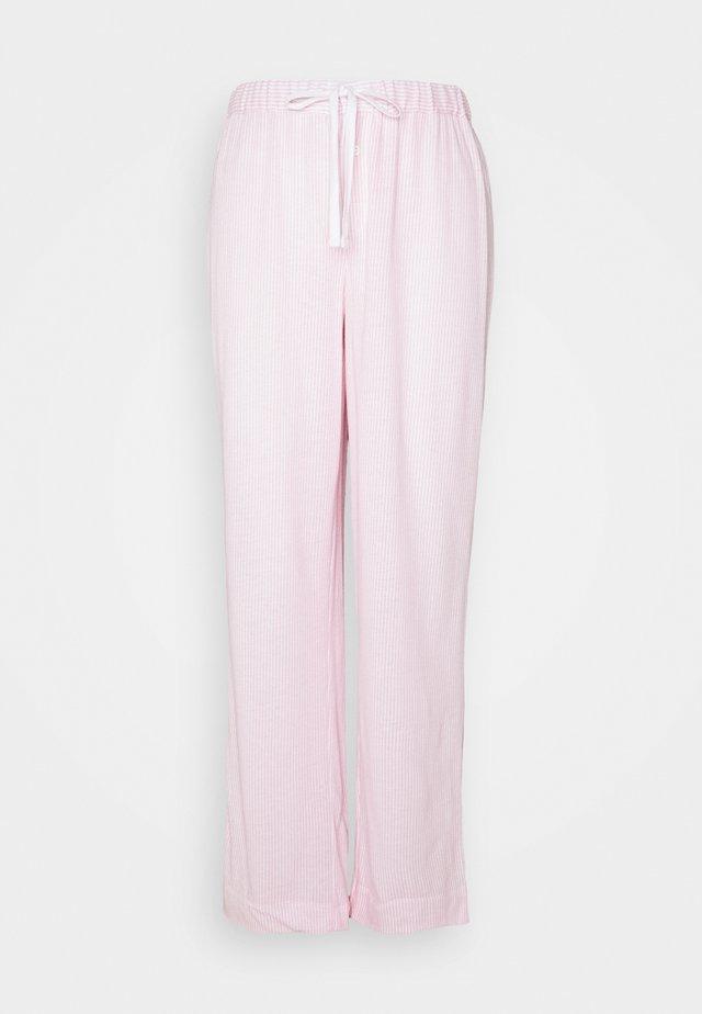 SEPARATE LONG PANTS - Pyjamabroek - pink/white