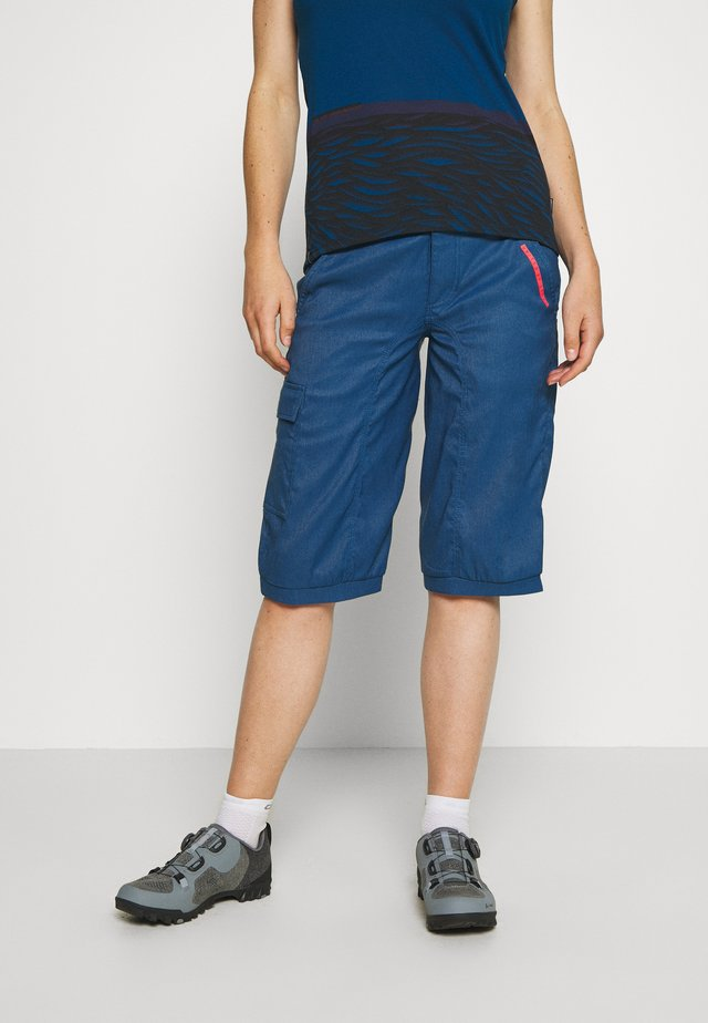 BIKESHORTS SEEK - 3/4 sports trousers - ocean blue