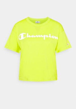 CREWNECK LEGACY - T-shirts med print - neon yellow