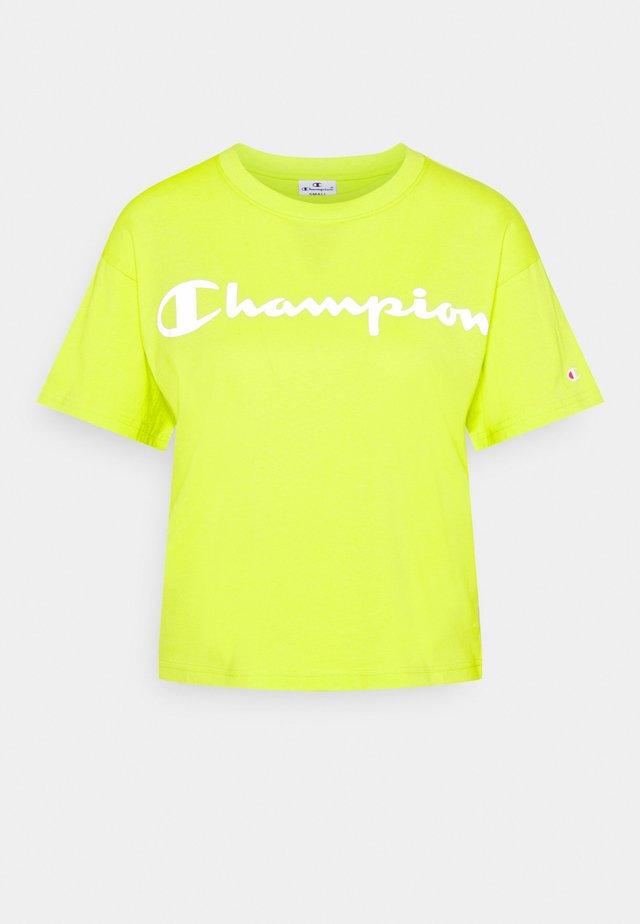 CREWNECK LEGACY - T-shirt print - neon yellow