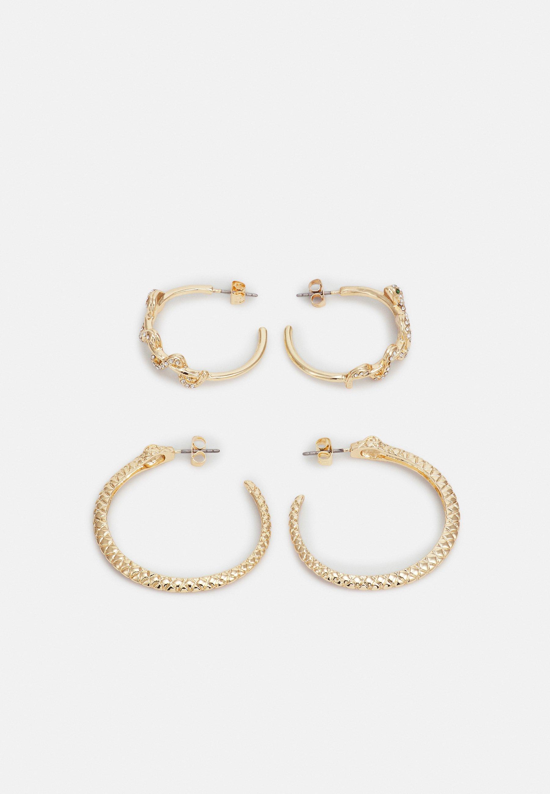 Women PCJADA HOOP EARRINGS 2 PACK - Earrings