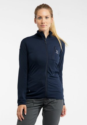L.I.M  - Fleece jacket - tarn blue