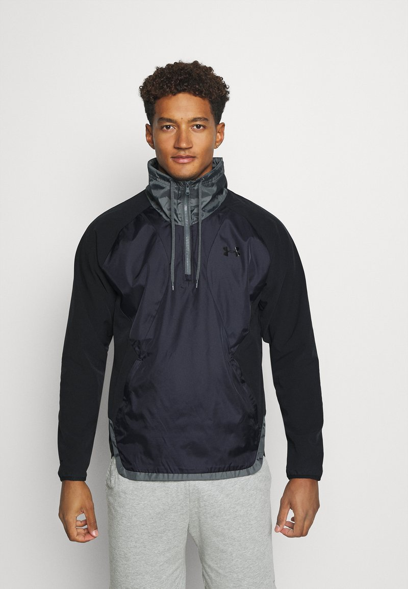 Under Armour - ZIP JACKET - Træningsjakker - black