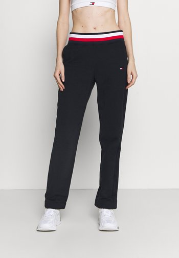 REGULAR GLOBAL PANT - Spodnie treningowe - blue