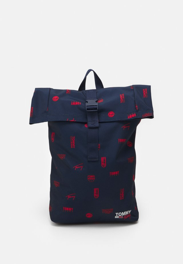 CAMPUSROLL BACKPACK PRINT UNISEX - Batoh - blue