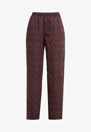PRINTED PULLON - Trousers - red/blue/multi