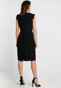 J.CREW TALL - RESUME DRESS BISTRETCH - Etuikleid - black - 3