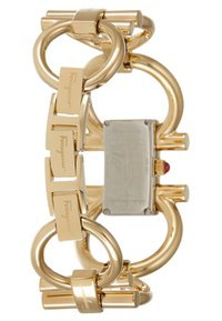 Salvatore Ferragamo - DOUBLE GANCINI WOMEN BRACELET - Watch - gold-coloured - 2