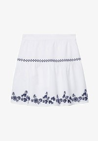 Mango - BRODÉE - A-line skirt - blanc cassé - 0