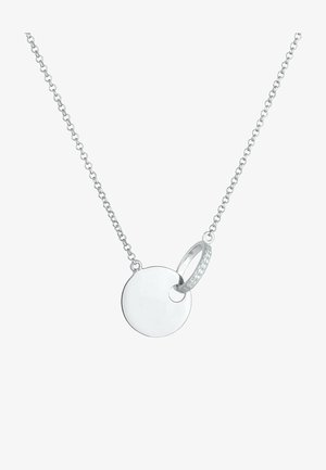 COIN CIRCLE - Halsband - silber coloured