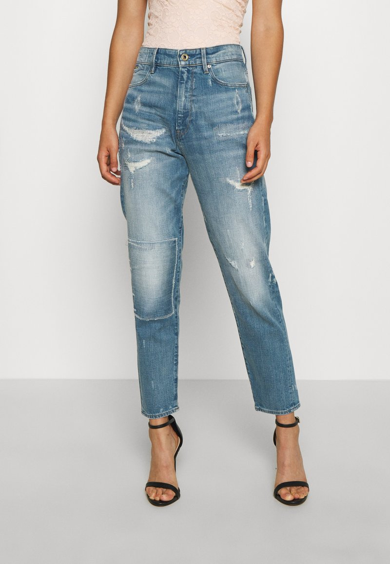 G-Star - JANEH - Jeans Tapered Fit - sun faded/prussian blue restored