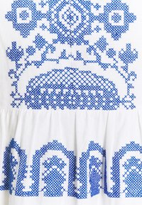 Milly - DEBBIE DRESS - Jurk - white/blue - 2