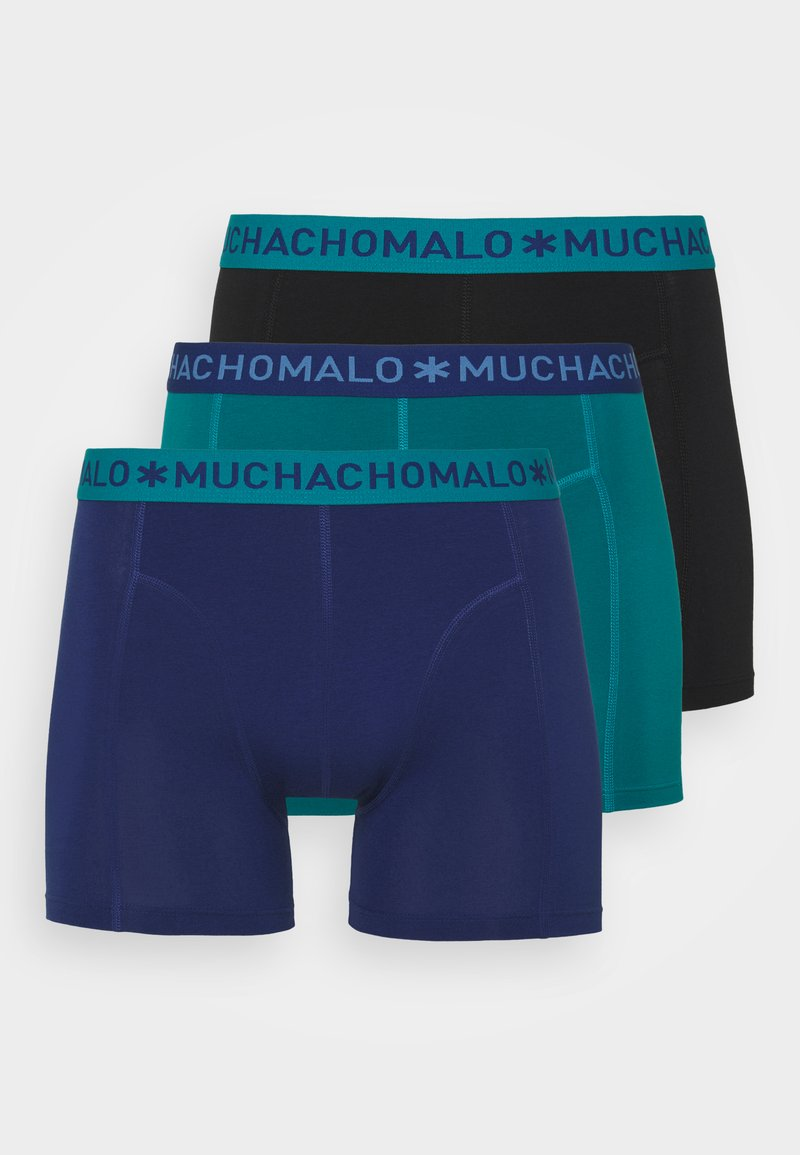 MUCHACHOMALO - VARI 3 PACK - Boxerky - dark blue/black