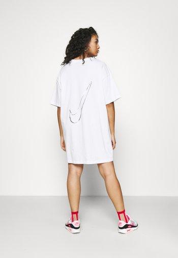 Vestido ligero - white/black