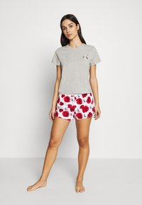 Calvin Klein Underwear - CK ONE LOUNGE CREW NECK - Pyjama top - grey heather - 1