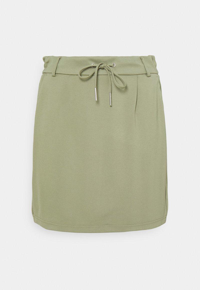 ONLY Tall - ONLPOPTRASH EASY SKIRT - Mini skirt - oil green