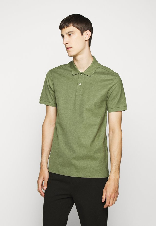 TROY  - Polo shirt - sage green