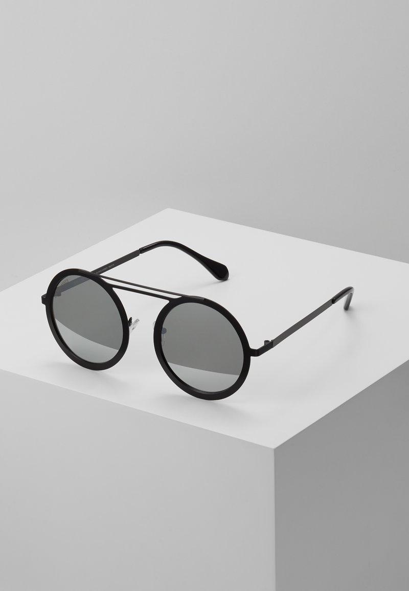 Urban Classics - CHAIN SUNGLASSES - Sluneční brýle - silver mirror/black