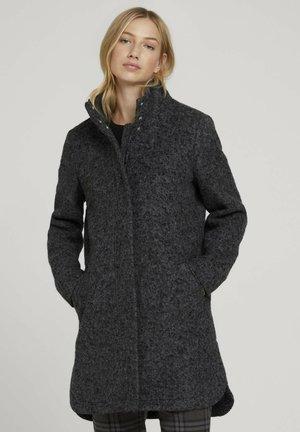 BOUCLE MANTEL - Short coat - light tarmac grey melange