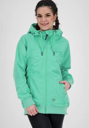 Outdoor jacket - emerald