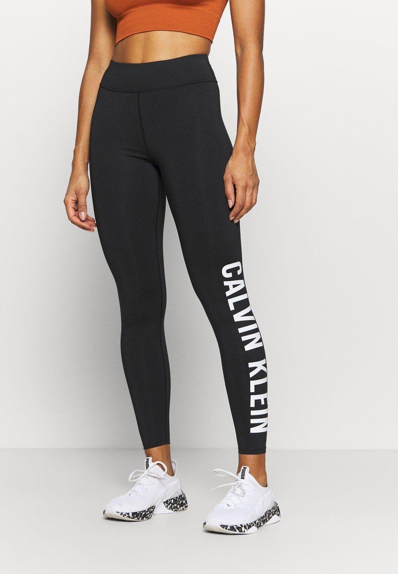Calvin Klein Performance - FULL LENGTH - Punčochy - black