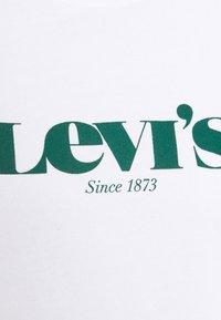 Levi's® - GRAPHIC STANDARD CREW - Felpa - white - 6