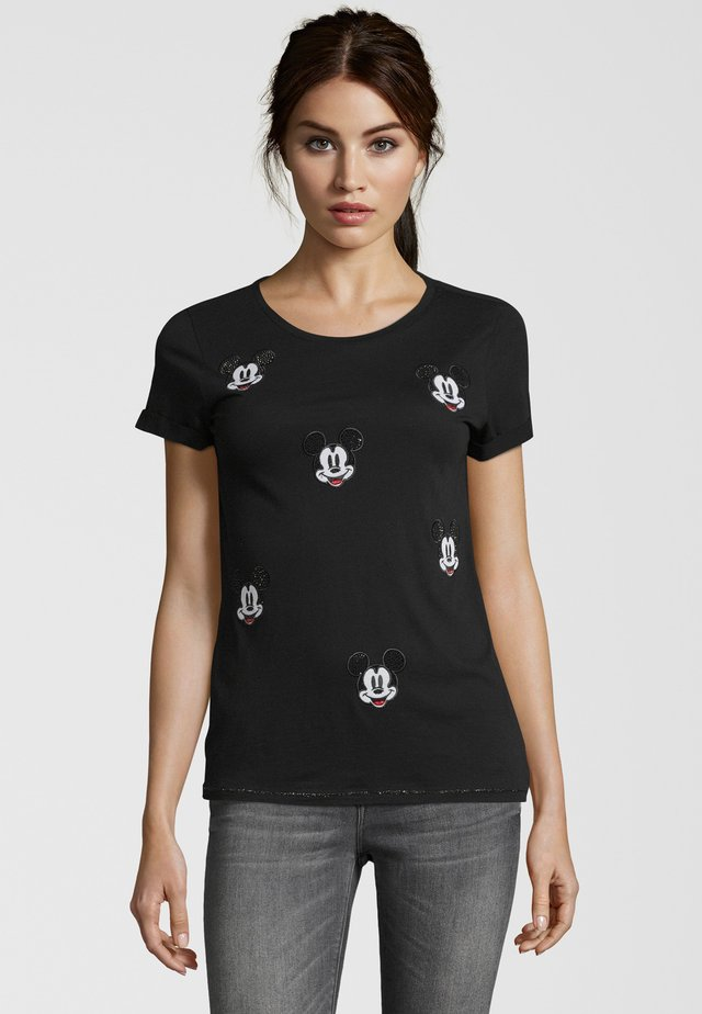 MICKEY - T-shirt imprimé - nero