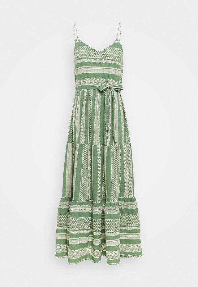 VMDICTHE SINGLET ANCLE DRESS - Maxi dress - dark ivy/birch