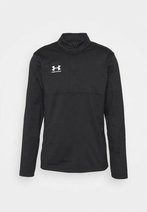 CHALLENGER MIDLAYER - Fleece jumper - black/white