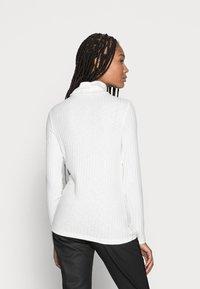 Esprit - HIGHNECK - Long sleeved top - off white - 2