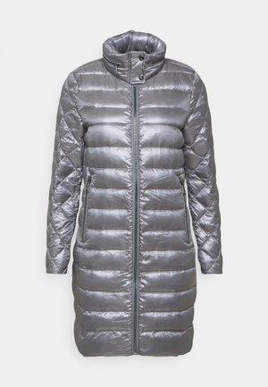 LUST MIXED COAT - Down coat - silver
