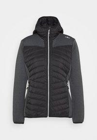 CMP - WOMAN JACKET FIX HOOD - Outdoor jacket - nero - 4