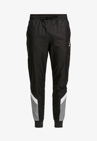 TREND PANTS - Trainingsbroek - black/houndstooth