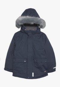 Minymo - SNOW JACKET SOLID - Zimní kabát - ombre blue - 0