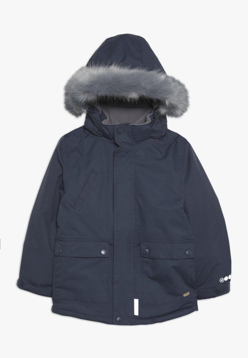Minymo - SNOW JACKET SOLID - Zimní kabát - ombre blue