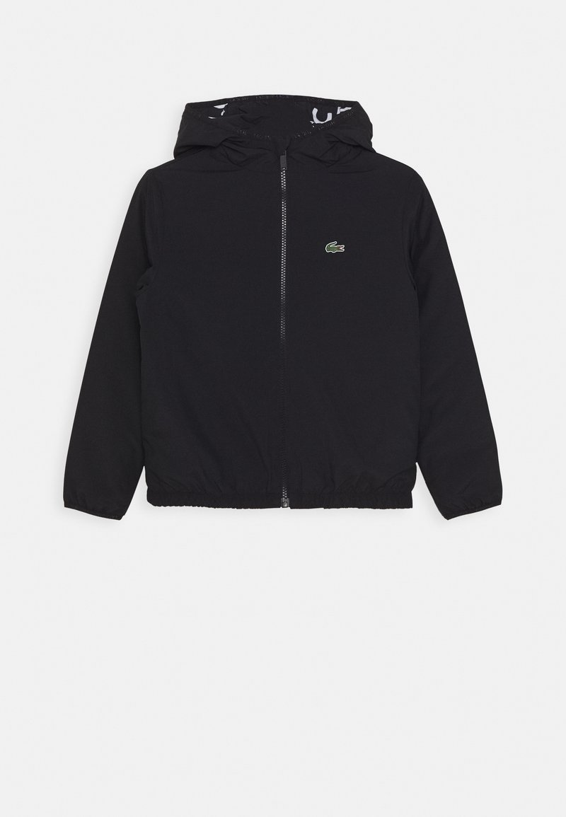 Lacoste Sport - JACKET HOODED - Training jacket - abysm/white