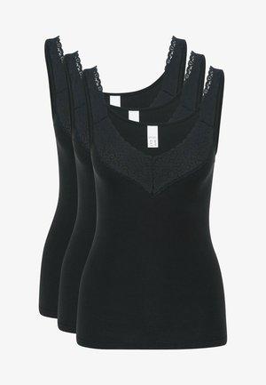 3ER PACK NATALIE - Hemd - schwarz