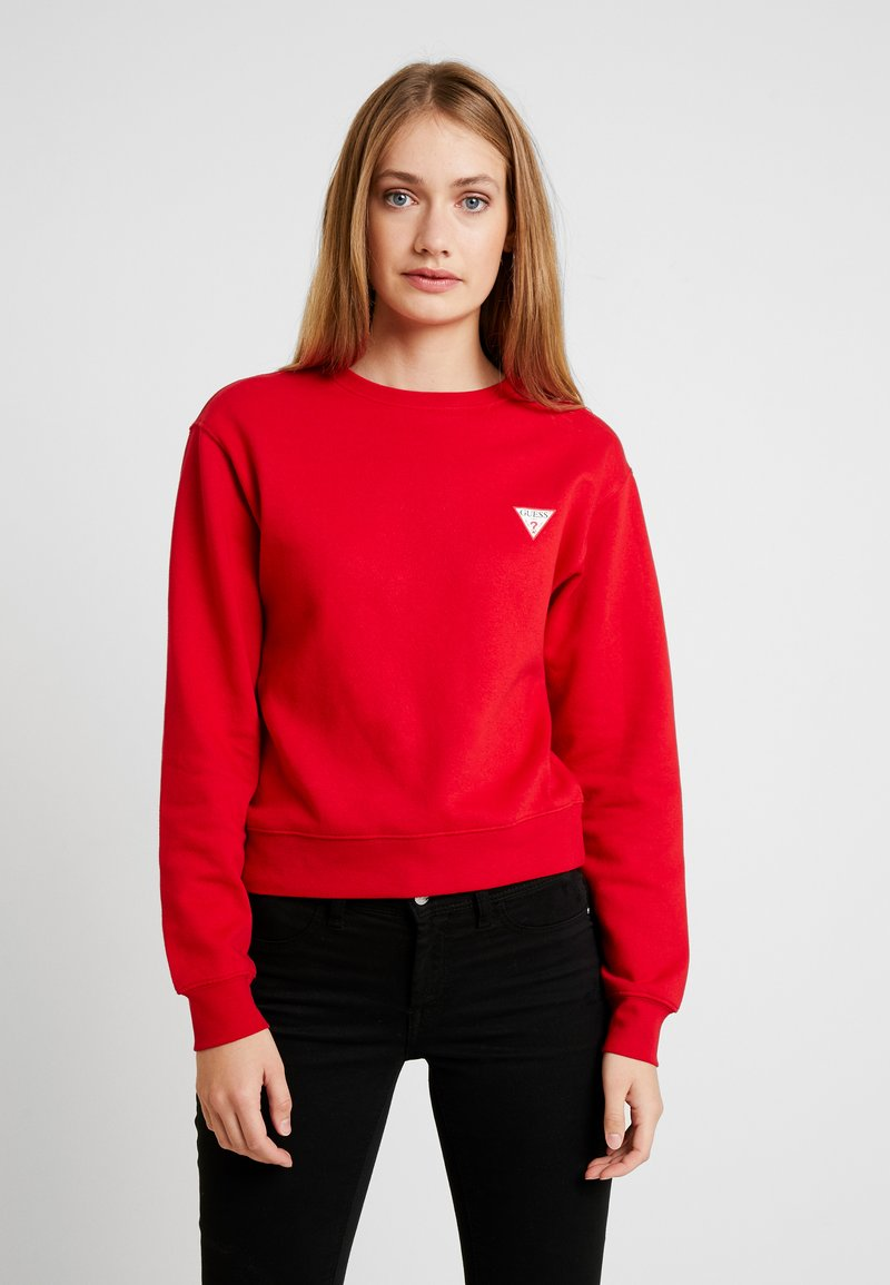 Guess - REGULAR FIT - Sweatshirt - red hot