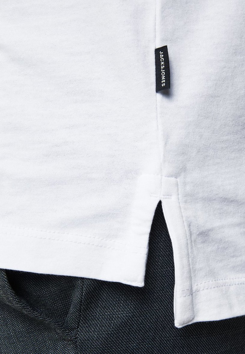 Jack & Jones PREMIUM T-SHIRT RUNDHALSAUSSCHNITT - Print T-shirt - white sxDmm